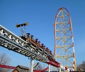 Top Thrill Dragster in Cedar Point