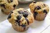 Nagerecht; Blueberry Muffins