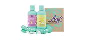 ABC Arbonne Baby Care Bright & Bubbly Bath Set, $45