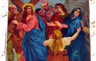 .8.Jezus pociesz płaczące niewiasty.