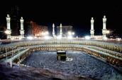 La Kaaba de la Mecque