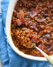 Hand's Down the BEST BAKED BEANS