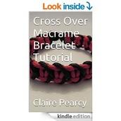 Cross Over Macrame Bracelet