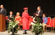 Congratulatory handshake