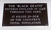 Black Death Plaque