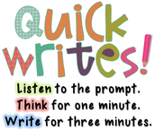 When to Use Quickwrites