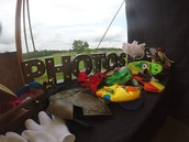 Large selection of props!
