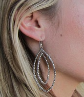 Bardot earrings (very light weight) - SOLD