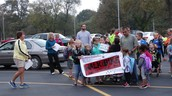 McMillan participated in Walk/Bike to School Day