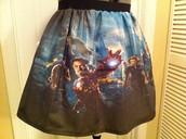 La falda de Avenger