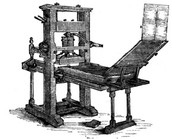 The Movable Printing Press is Invented