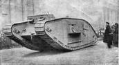 a WW1 tank