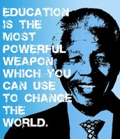 How do you use education to change the world?