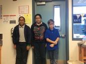 Ashley, Juan, and Sean