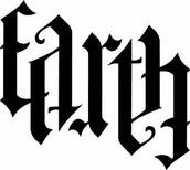 Earth Ambigram