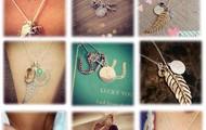 Charm Necklaces!