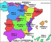 España organizase en Dezasete comunidades autonomas e suas cidades autonomas cada comunidade autonoma ten un estatuto de autonomia.