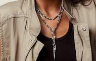 Zoe Lariat Necklace {$98}