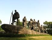 The Salt March monument