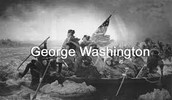 George Washington in a battle