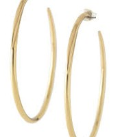 Bronze Signature Hoops