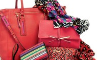 Scarves, bags, wallets oh my!