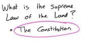 Article VI- S for Supremacy
