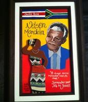 Expuesta en el Museo de Nelson Mandela en Sudafrica