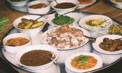מגוון מאכלים דרוזיים מסורתיים