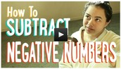 Subtracting Positive and Negative Numbers | The Matrix and Batman