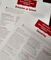 Tip sheets cover a variety of behaviors