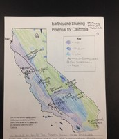 Map of Earthquake Shaking Potential for California