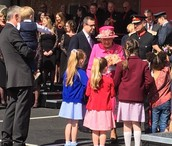 Pupil Meets the Queen