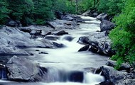 A River Heading Downhill