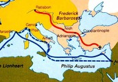 Third Crusade Map