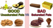 Unsaturated Fat vs. Saturated Fat