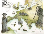 Black Death Map