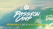Passion Camp (Summer Beach Camp) July 19-24, 2015