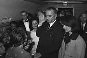 Lyndon B. Johnson (JFK's Vice- President/ President)