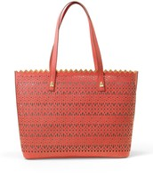 Avalon Tote in Geranium Perf $148