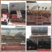 Yr 6 project - Trenches in a shoe box