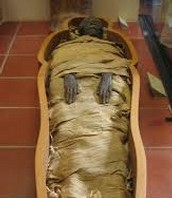 Another wrapped mummy