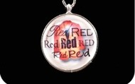 Red Bauble Charm