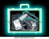 צילום רנטגן של מזוודה
