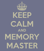 Memory Master Meeting #1