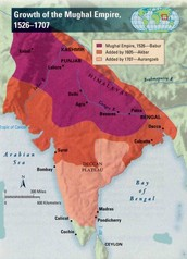 How the Mughals Conquered Land