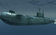 Military Submarine Underwater