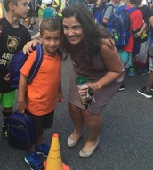 Louie's 1st day of 2nd Grade