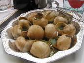 As-tu mangé des escargots?