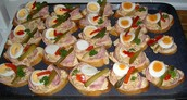 blozene chlebicky, a type of snack or appetizer